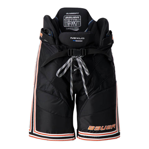 BAUER NEXUS N9000 JR HOCKEY PANTS BLACK/ORANGE