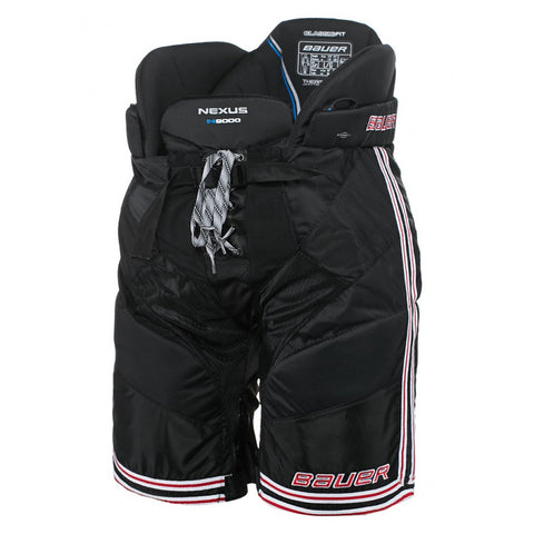 BAUER NEXUS N9000 JR HOCKEY PANTS BLACK/RED