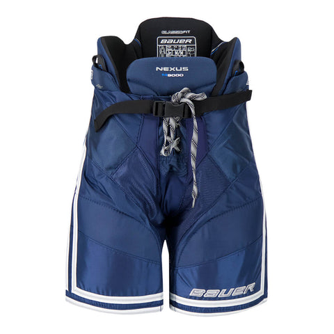 BAUER NEXUS N9000 JR HOCKEY PANTS NAVY/SILVER