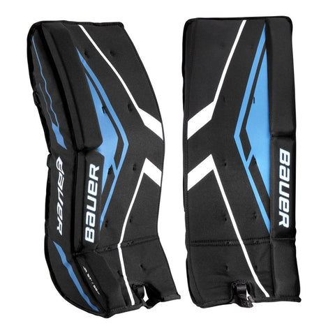 BAUER JR STREET HOCKEY GOALIE PADS 23 INCH