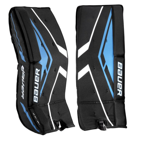BAUER JR STREET HOCKEY GOALIE PADS 27 INCH