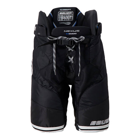 BAUER NEXUS N9000 SR HOCKEY PANTS BLACK/SILVER