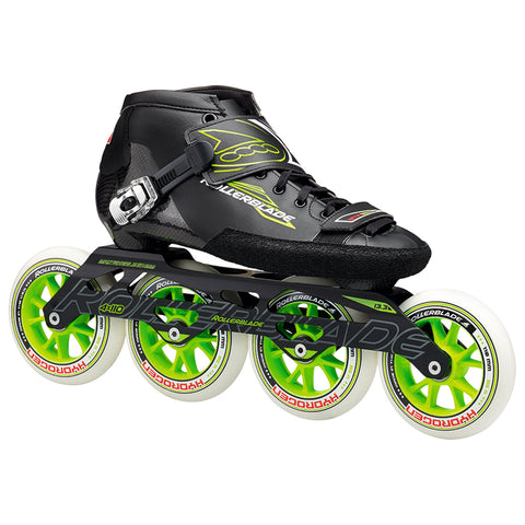 ROLLERBLADE POWERBLADE 195 MEN'S INLINE SKATES BLACK/GREEN