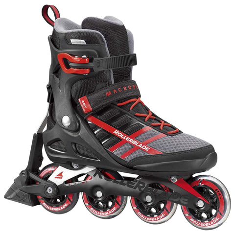 ROLLERBLADE MACROBLADE 84 ABT MEN'S INLINE SKATES BLACK/RED