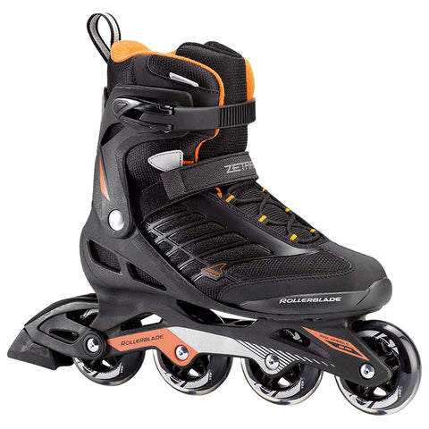 ROLLERBLADE ZETRABLADE MEN'S INLINE SKATES BLACK/ORANGE