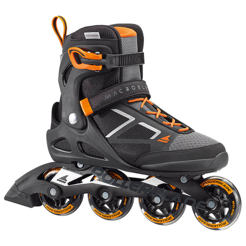ROLLERBLADE MACROBLADE 80 MEN'S INLINE SKATES BLACK/ORANGE