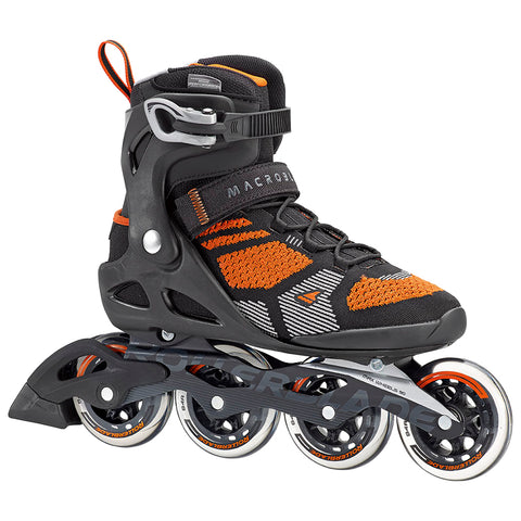 ROLLERBLADE MACROBLADE 90+ MEN'S INLINE SKATES BLACK/ORANGE