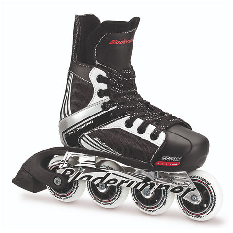 BLADERUNNER DYNAMO JR ADJUSTABLE ROLLER HOCKEY SKATES SIZES 1-4