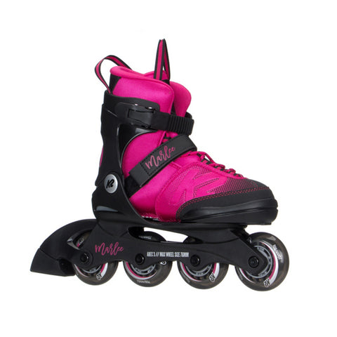 K2 MARLEE JR ADJUSTABLE INLINE SKATES SIZES 1-5