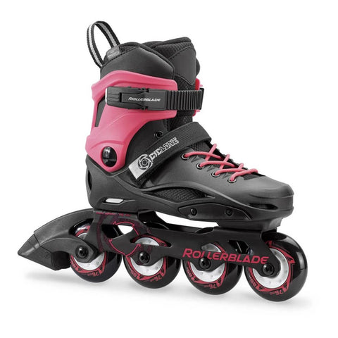 ROLLERBLADE CYCLONE JR ADJUSTABLE INLINE SKATES BLACK/PINK SIZES 5.5-6.5