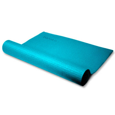 ZENZATION 1/4'' YOGA STICKY MAT W STRAP - DARK TEAL