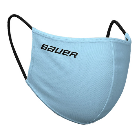 BAUER REVERSIBLE FACE MASK (NON-MEDICAL) BLUE/PLAID