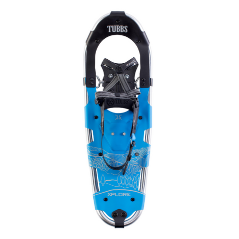 TUBBS XPLORE MENS SNOWSHOE KIT 25 INCH BLUE