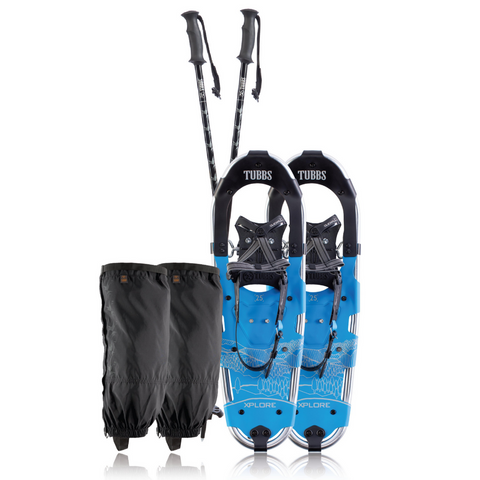 TUBBS XPLORE MENS SNOWSHOE KIT 30 INCH BLUE