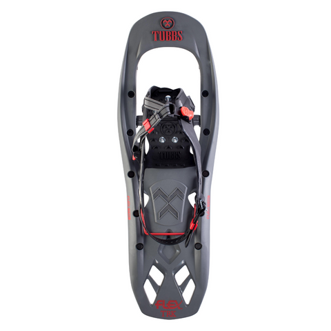 TUBBS TRK MENS SNOWSHOES 24 INCH GREY/RED