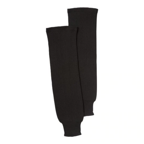 SHERWOOD SOLID KNIT SR HOCKEY SOCKS 28 INCH BLACK