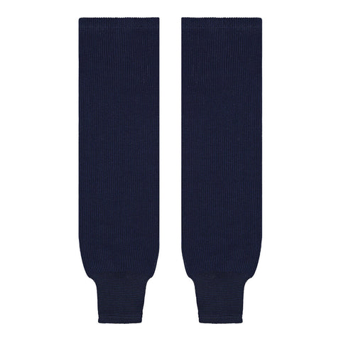 SHERWOOD SOLID KNIT JR HOCKEY SOCKS 24 INCH NAVY
