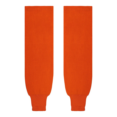 SHERWOOD SOLID KNIT SR HOCKEY SOCKS 28 INCH ORANGE