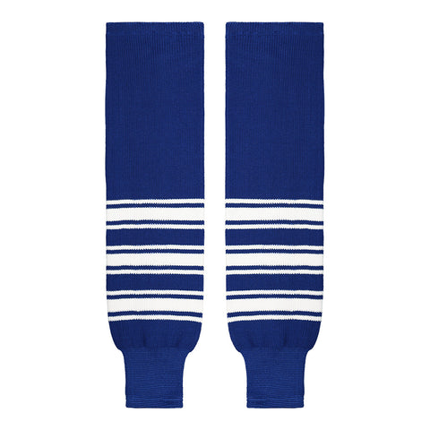 SHERWOOD TEAM KNIT YTH HOCKEY SOCKS 20 INCH TORONTO ROYAL