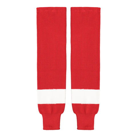 SHERWOOD TEAM KNIT YTH HOCKEY SOCKS 20 INCH DETROIT RED