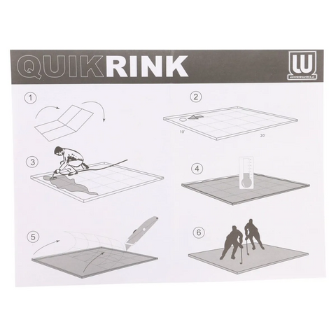 WINNWELL HOCKEY QUIK RINK KIT
