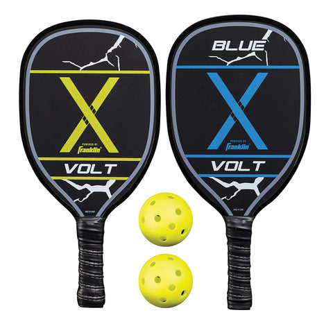 FRANKLIN VOLT PICKLEBALL SET WITH 2 PADDLES & 2 BALLS