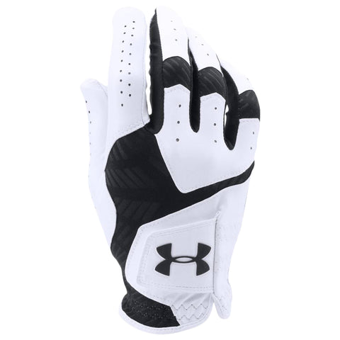 UNDER ARMOUR COOLSWITCH MEN'S GOLF GLOVE LEFT WHITE/BLACK