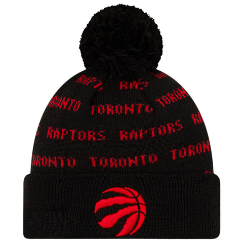 NEW ERA YOUTH TORONTO RAPTORS KNIT REPEAT TEAM COLOUR