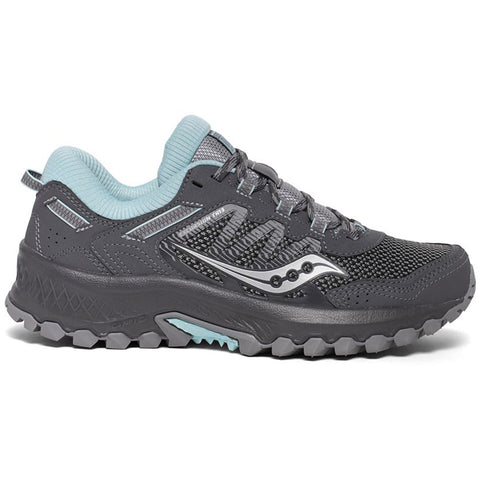SAUCONY WOMEN'S EXCURSION TR13 RUNNING SHOE CHARCOAL/BLUE