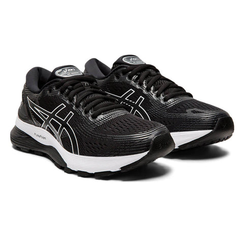 ASICS WOMEN'S GEL NIMBUS 21 RUNNING SHOE BLACK/GREY