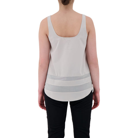 UNDER ARMOUR W ODL WOVEN TANK-GRY