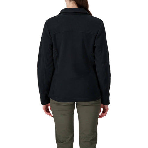 COLUMBIA WOMEN'S GIVE AND GO FULL ZIP BLACK
