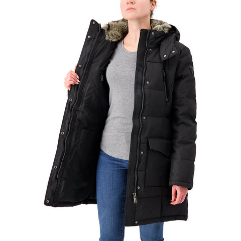 PAJAR WOMEN'S TORY DOWNFILLED JACKET BLACK