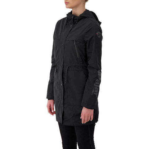 PAJAR WOMEN'S JACKIE UNLINED RAINCOAT CAVIAR