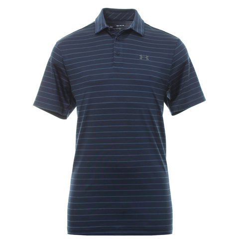 UNDER ARMOUR MEN'S PLAYOFF SHORT SLEEVE POLO NAVY