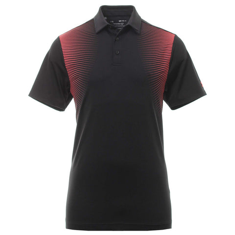 UNDER ARMOUR MEN'S PLAYOFF SHORT SLEEVE POLO 2.0 BLACK