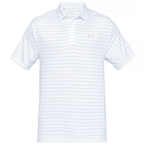 UNDER ARMOUR MEN'S PLAYOFF SHORT SLEEVE POLO 2.0 WHITE