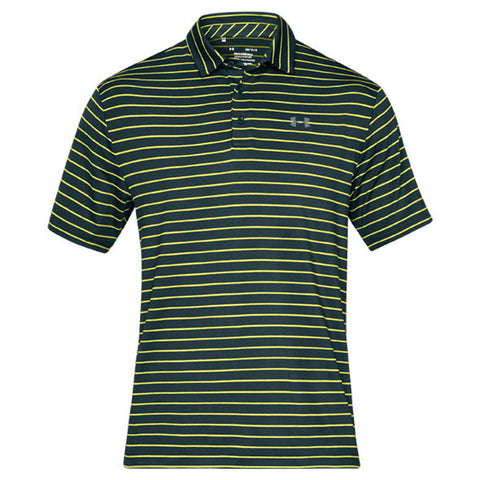 UNDER ARMOUR MEN'S PLAYOFF SHORT SLEEVE POLO 2.0 GREEN