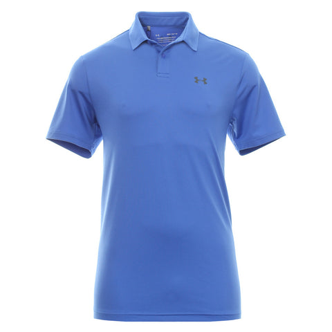 UNDER ARMOUR MEN'S PERFORMANCE SHORT SLEEVE POLO 2.0 BLUE