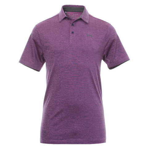 UNDER ARMOUR MEN'S PLAYOFF SHORT SLEEVE POLO 2.0 PURPLE