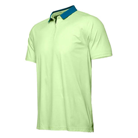 UNDER ARMOUR MEN'S ISO CHILL SHORT SLEEVE POLO GREEN
