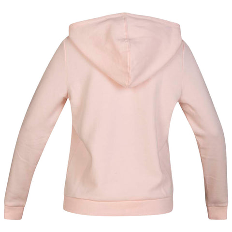 HURLEY WOMEN'S TRINSIC PERFECT FLEECE PULLOVER ECHO PINK/HEATHER BACK