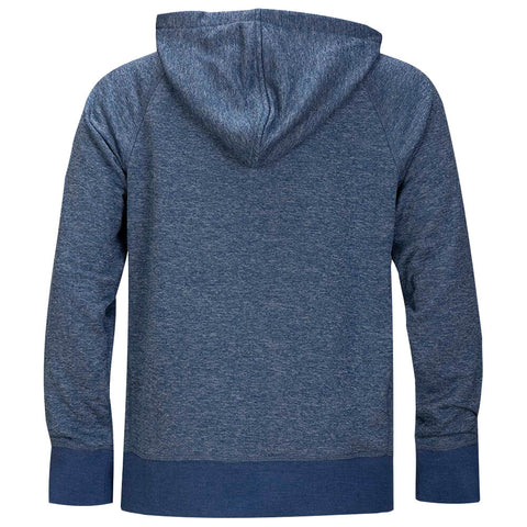 HURLEY BOYS' DRI FIT DISPERSE PULLOVER MYSTIC NAVY HEATHER