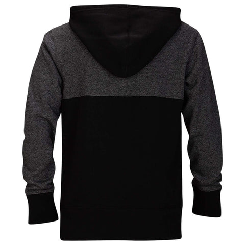 HURLEY BOYS' CRONE TEXTURED PULLOVER BLACK