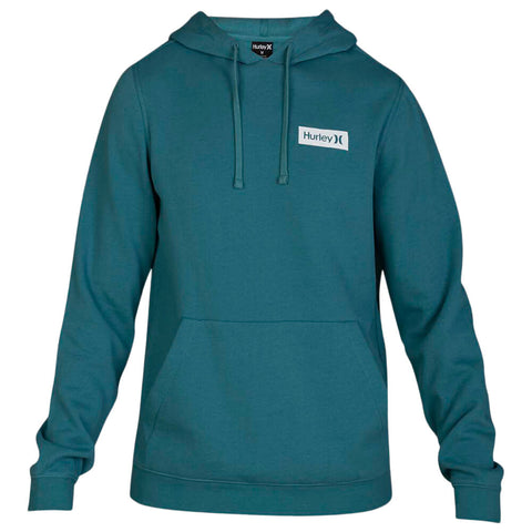 HURLEY BOYS' ONE AND ONLY BOXED FLASHBACK PULLOVER MINERAL TEAL