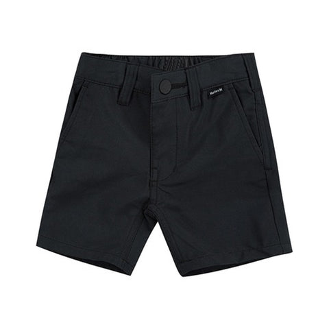 HURLEY BOYS' DRI FIT CHINO SHORT BLACK