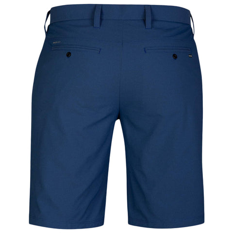 HURLEY MEN'S DRI FIT CHINO SHORT 21'' SHORT MYSTIC NAVY BACK