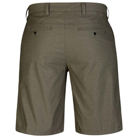 HURLEY MEN'S DRI FIT BREATHE SHORT 21'' OLIVE CANVAS BACK