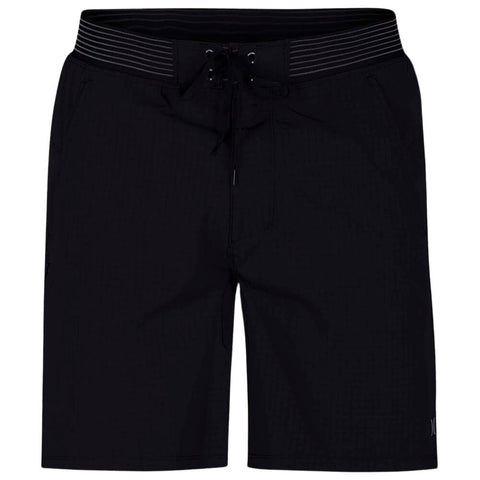 HURLEY MEN'S PHANTOM ALPHA TRAINER PLUS 2-1 SHORT BLACK