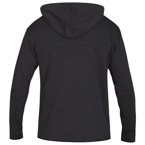 HURLEY MEN'S DRI FIT NATURALS FLEECE FULLZIP OFF NOIR BACK